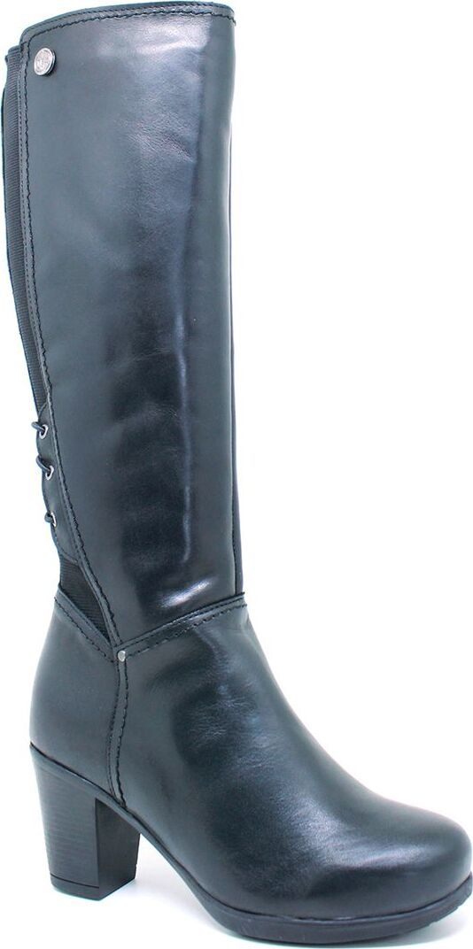 botte longue en cuir avec membrane et fe femme bottes doubl es importations europ ennes. Black Bedroom Furniture Sets. Home Design Ideas